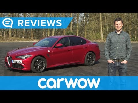 Alfa Romeo Giulia Quadrifoglio 2017 Review   Mat Watson Reviews