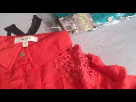 Blusas feminas # 07 Unboxing - Aliexpress