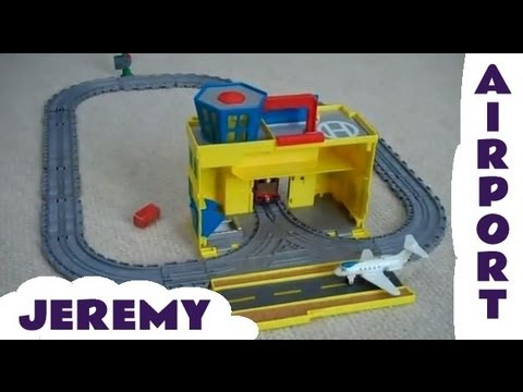 thomas  friends   jeremy sodor airport set kids toy train set thomas  tank engine