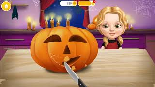 Sweet Baby Girl Halloween Fun Makeup Games   Play Spooky Makeover