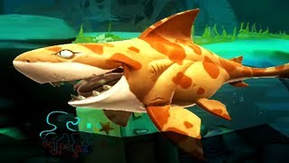 Hungry Shark Heroes Android Gameplay Paleocarcharias