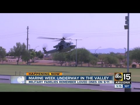 Marine Week underway in the Valley