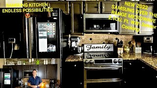 Samsung Over The Range Microwave  2.1CU.Ft Sensor Cooking Review NEW 2021 Functions Features Specs????