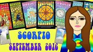 SCORPIO SEPTEMBER  2016 Tarot psychic reading forecast predictions free