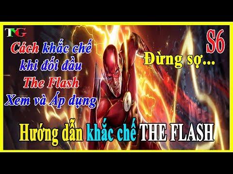 Liên quân mobile Hướng dẫn Cách Khắc Chế The Flash hiệp sĩ thần tốc [Xem và Áp Dụng] thumbnail