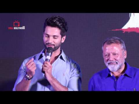 Dad Compliment Me | Shahid Kapoor | Haider | Book Launch