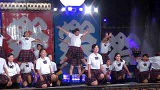 2018.10.6 安濃津よさこい 中京高校保育class『lovekids』