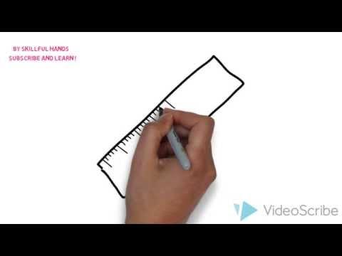 Видео как нарисовать линейку