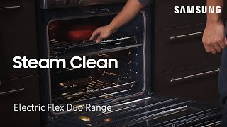 01. How to use the Steam Cleaning feature to clean your Oven | Samsung US