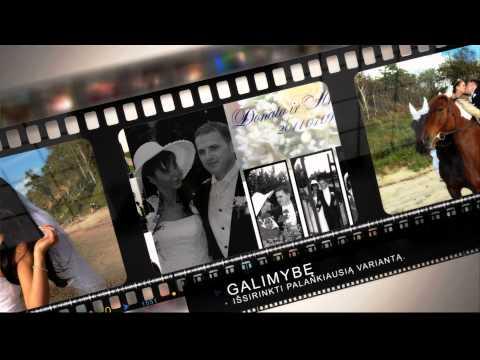 VESTUVES 2012, FOTOGRAFAS VESTUVEMS klipas