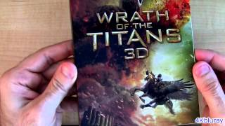 Wrath of the Titans - Wrath of the Titans 3D blu ray Unboxing Review Mirror Mirror blu-ray update