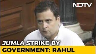 Watch Rahul Gandhi's Speech During No-Trust Debate In Parliament