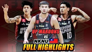 UNIVERSITY OF THE PHILIPPINES vs NKNU (Taiwan)  FULL HIGHLIGHTS | July 18, 2019 | 2019 BLIA CUP