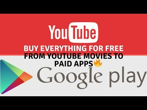 Download Google Play Paid Games, Apps, E-Books and YouTube Movies for Free
