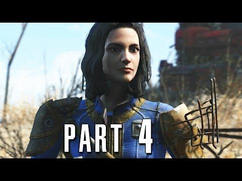 Fallout 4 Walkthrough Gameplay Part 4 - Minutemen (PS4)