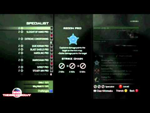 MW3 Strike Packages, Death Streaks, and Point Streaks Explained in Detail!!!!