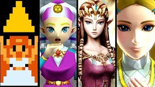 Zelda Evolution of PRINCESS ZELDA 1986-2018 (Switch to NES)