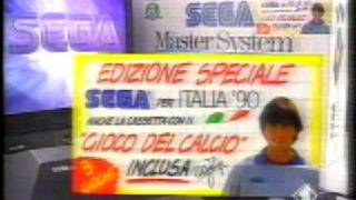 Sega Master System - Walter Zenga Italian TV Spot
