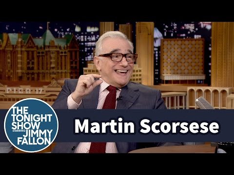 Martin Scorsese Does His Best Robert De Niro Impression