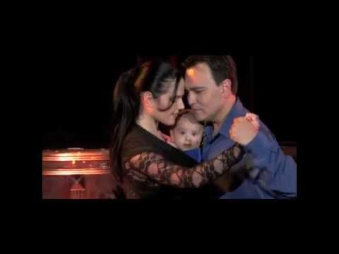 Thumbnail of video Mi Primer Tango Georgina,Oscar & Nicolas Mandagaran bailan Poema