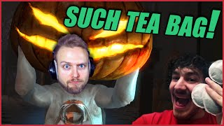 DEAD REALM with Friends! ◄ Such Tea Bag! ► Funny Highlights EP 1