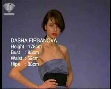 fashiontv | FTV.com - DASHA FIRSANOVA FIRST FACES IN SINGAPORE FASHION FESTIVAL Video