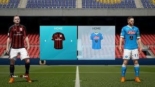 FIFA 16 - Serie A Ratings & Kits