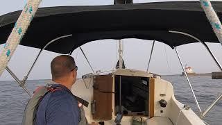 Motoring on lake superior