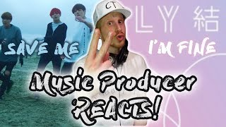 Download Lagu Music Producer Reacts to BTS - Save Me AND I'm Fine!!! Gratis STAFABAND