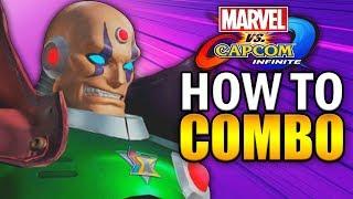 SIGMA Combo Guide - Marvel vs Capcom Infinite - Basic to Advanced!