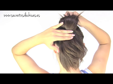 5 peinados faciles para ir a la escuela | 5 back to school hairstyles