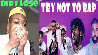 *must watch* try not to rap 😂 did I lose?