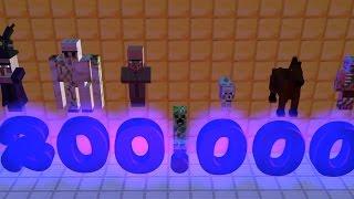 [EL] Fan-imation: 200.000 ISCRITTI! (MineCraft Animation)