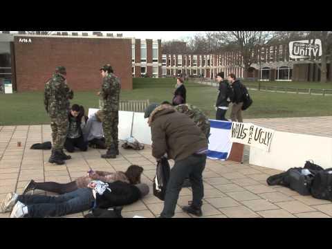 Israeli Apartheid Week at Sussex University (UniTV)