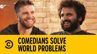 Comedians Solve World Problems - Racism | Comedy Central UK