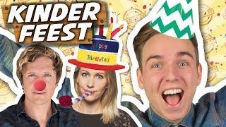 BESTE KINDERFEEST ORGANISEREN! - Nailed it #20 ft. Klaas en Saskia