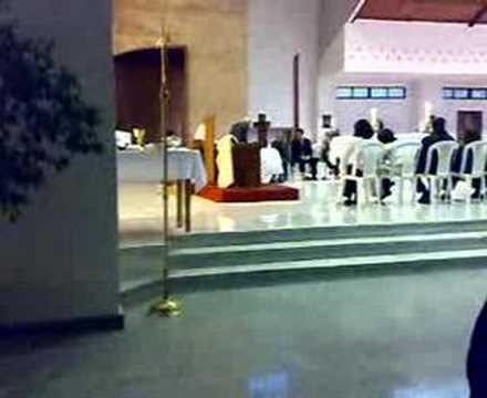 Misa de Jueves Santo 2007 - Lavatorio de pies