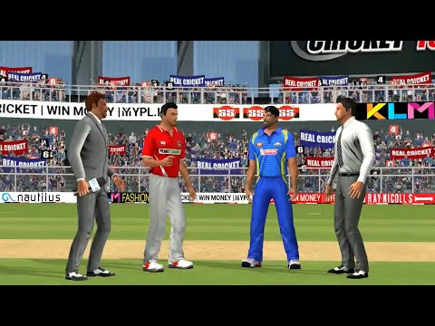 4th May IPL 11 Kings XI Punjab Vs Mumbai Indians Real Cricket 2018 Mobile Gameplay