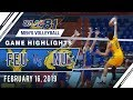 UAAP 81 MV: FEU vs. NU   Game Highlights   February 16, 2019