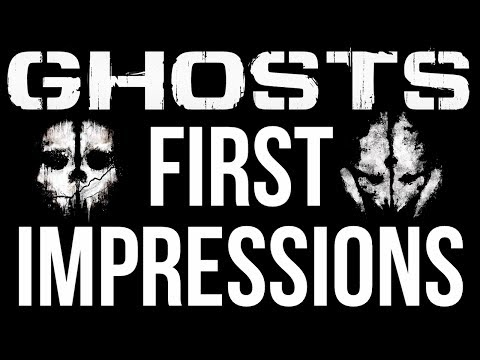 Call of Duty: Ghosts - First Impressions & First Game