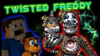 Five Nights at Freddy's TWISTED ONES Freddy Bootleg Fake Funko Articulated Action Figure Unboxing
