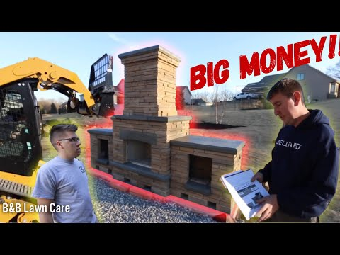 How To Install An Outdoor Fireplace! (FOR DUMMIES)
