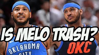 Is Carmelo Anthony Still A Legit NBA Player?