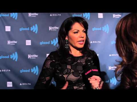 Sara Ramirez from Grey's Anatomy at the GLAAD Awards