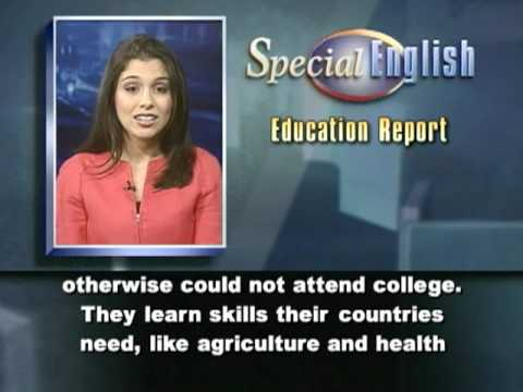 VOA Learning English - Education Report # 393