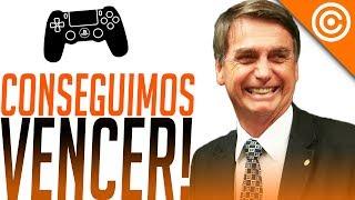 Bolsonaro Aprovou Redução de Imposto nos GAMES!