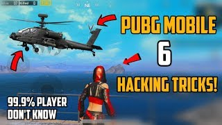 PUBG Mobile New 6 Hacking Tips and tricks   99.9% Player Don't Know!