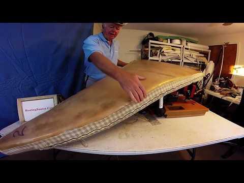 DIY Boat Upholstery Chap 55 Front Berth Cushion