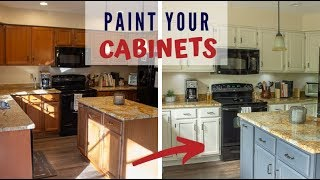 How to Paint Kitchen Cabinets with General Finishes Milk Paint