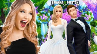 I'm Getting Married to PrestonPlayz! (Real Sims 4 Wedding)